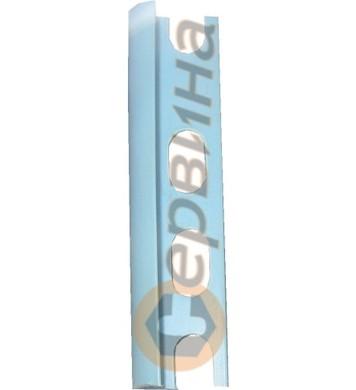 Ъглова външна лайсна PVC 8мм. 2,5м. 0011A