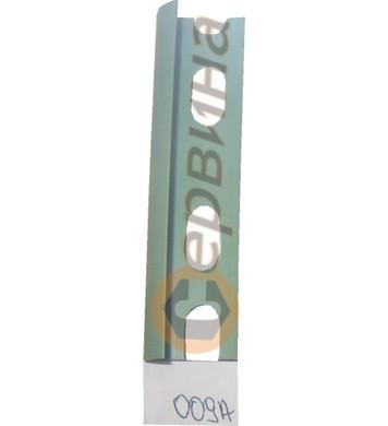 Ъглова външна лайсна PVC 8мм. 2,5м. 009A