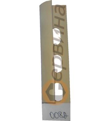 Ъглова външна лайсна PVC 8мм. 2,5м. 008A