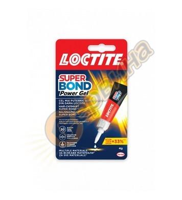 Loctite Super Attak Power Gel 3гр. универсално секундно лепи