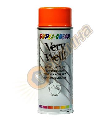 Акрилна боя спрей - оранжев Dupli Color Very Well RAL2004 DE