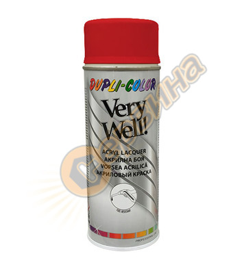 Спрей Very Well RAL3000 ярко червено 400мл. DE30230