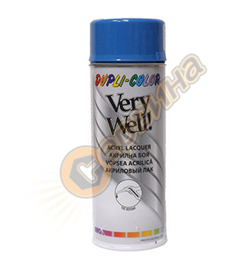 Акрилна боя спрей - светло син Dupli Color Very Well RAL5015