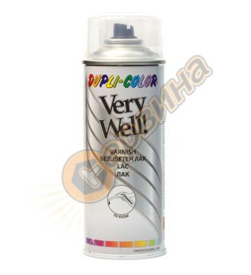 Безцветен лак - гланц спрей Dupli Color Very Well DE30297 -