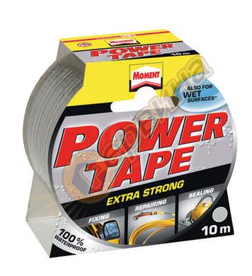 Армирана лента- сребърно Moment Powertape 25м. DE10095