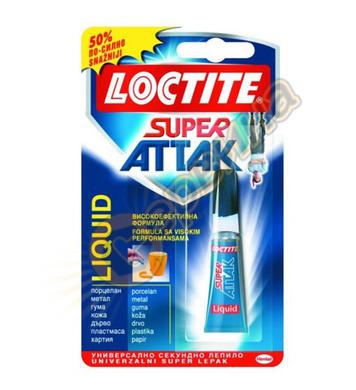 Loctite Super Attak 3гр. универсално секундно лепило DE10201