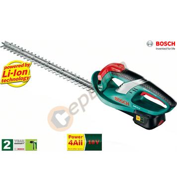 Акумулаторна ножица за жив плет Bosch AHS 52 LI - 0600849009