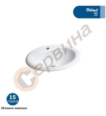 Мивка за вграждане Vidima SevaMix W508901 - 52см