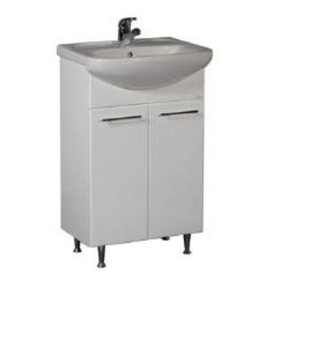 Шкаф за баня с умивалник Area 550 мм
