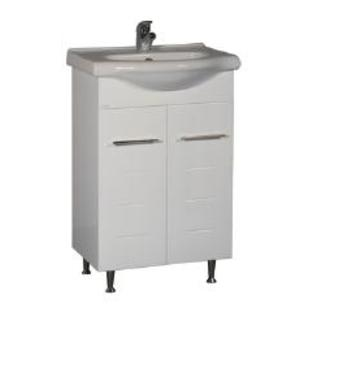 Шкаф за баня с умивалник Neo 550 мм