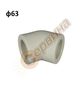 ППР дъга полу-коляно EVS 8090063 - ф63