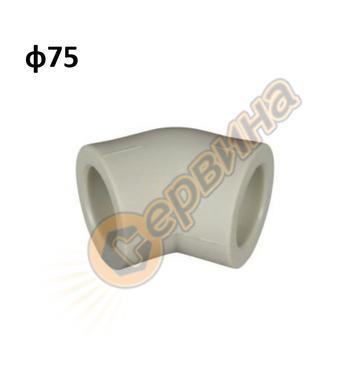 ППР дъга полу-коляно FV Plast 203075 - ф75