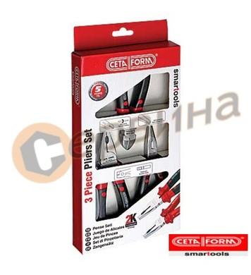 Клещи 3бр комплект Ceta Form Е99-11-0103