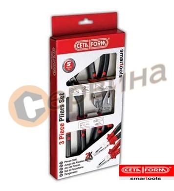 Клещи 3бр комплект Ceta Form E99-11-0203