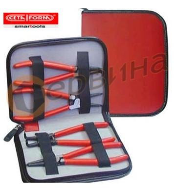 Клещи зегер комплект Ceta Form E99-44-0404 - 4бр