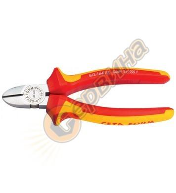 Клещи резачки VDE 1000V 180мм. Ceta Form G12-18-0180