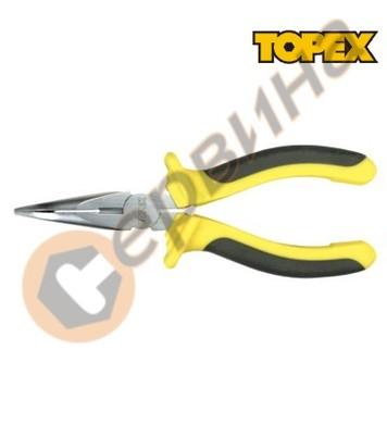 Клещи човки криви 160мм. Topex 32D555