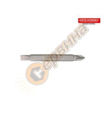 Накрайник комбиниран PH2хPZ2x60мм Ceta Form CB/660