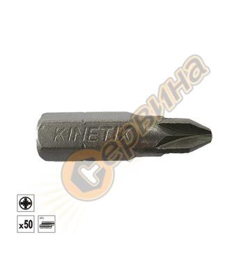 Накрайник за винтове PZ2х25мм 50бр Kinetix BTZ252 17614