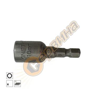 Накрайник магнитен 10x42мм Kinetix BTC4210 - 8бр