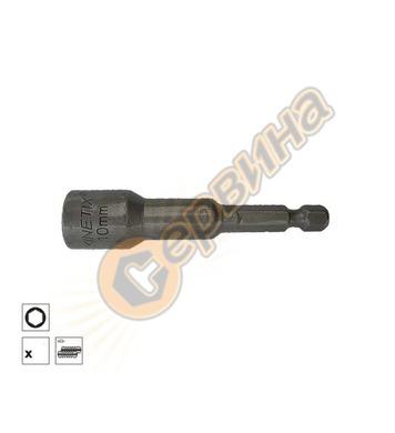 Накрайник магнитен 8x65мм Kinetix BTC6508 - 8бр
