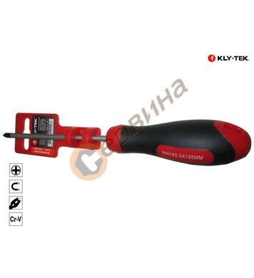 Отвертка Phillips PH2x6.0x100мм Kly-Tek KY6100