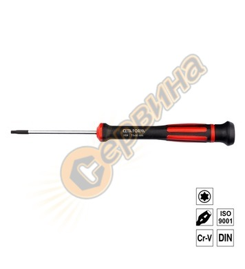 Отвертка за електроника Ceta Form TORX T9x60мм H04-09-060
