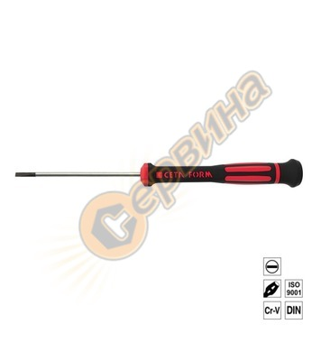 Отвертка за електроника Ceta Form плоска 1.2x40мм H0112-040