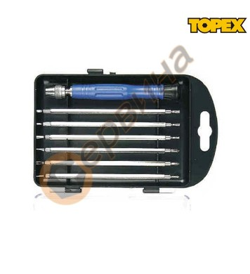 Отвертки за електроника Topex 39D551 - 7бр.