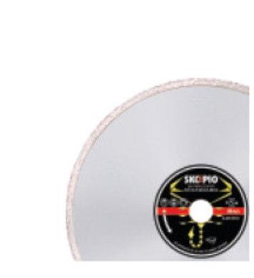 Дамантен диск Skorpio 115x22,2 Silver konti COMET