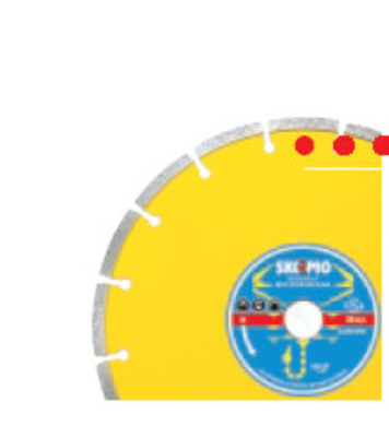 Диамантен диск Skopio 115x22,2 Econom segment COMET