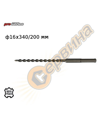 Бургия SDS MAX Ф24  L600 TOPEX