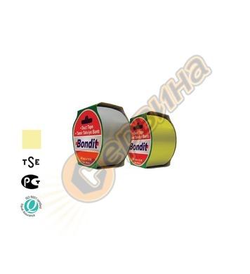 Лента-тиксо армирана 48мм х 10метра Bondit BNC197 - жълта 2б