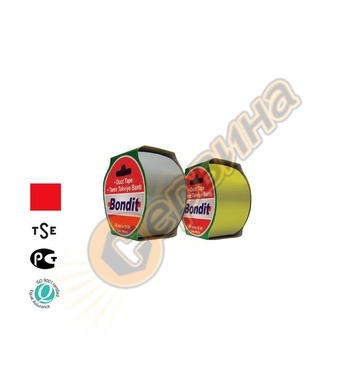 Лента-тиксо армирана 48мм х 10метра Bondit BNC196 - червена
