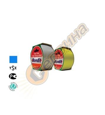 Лента-тиксо армирана 48мм х 10метра Bondit BNC199 - синя 2бр