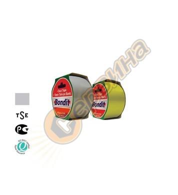 Лента-тиксо армирана 48мм х 10метра Bondit BNC191 - сива 2бр
