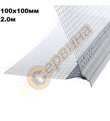 PVC ъгъл-водооткапващ V0050 - 200см
