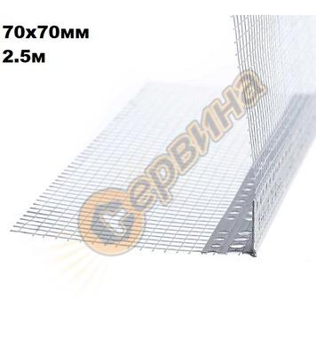 PVC ъгъл с мрежа V0045 - 250см