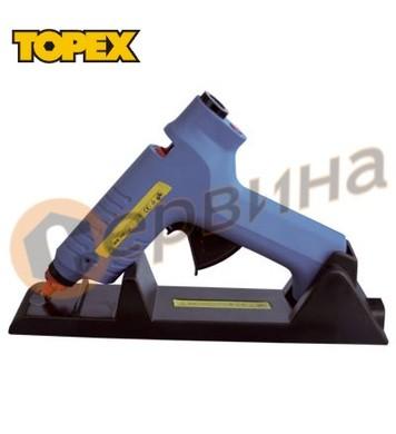 Пистолет за силикон 80W Topex- безжичен 42E511
