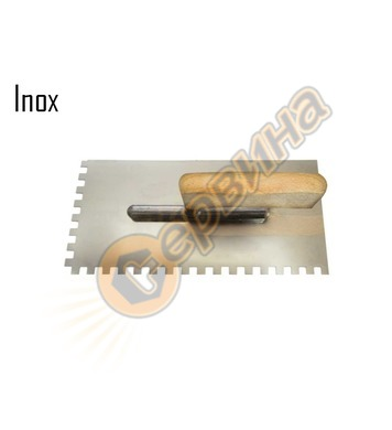 Маламашка назъбена 270х130х10мм Decorex D334