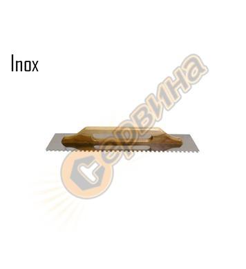 Маламашка назъбена 580х130х10мм Decorex D319-10