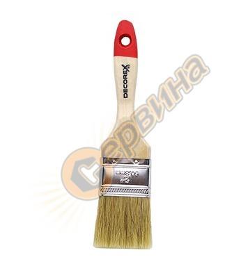 Четка с дървена дръжка 40мм L на косъма 46мм REMOND