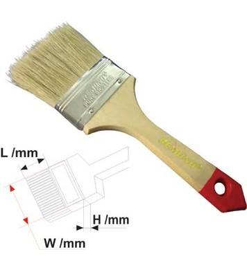 Четка с дървена дръжка 50мм L на косъма 54мм REMOND
