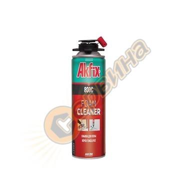 Препарат за почистване-чистител на полиуретанова пяна Akfix