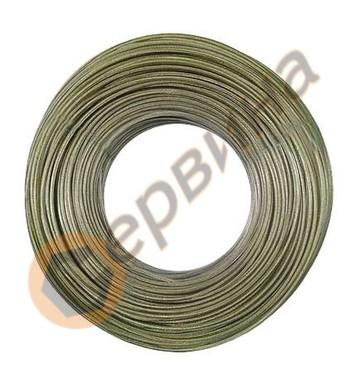 Стоманено въже с PVC покритие 200метра/ 2мм KCT200