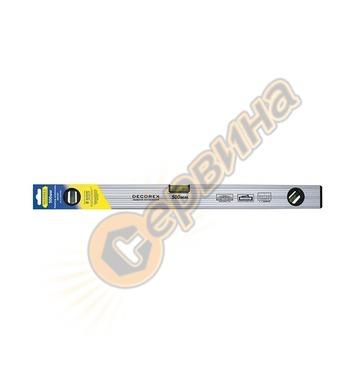 Алуминиев нивелир с магнити 150см Decorex KST615 - СИВ