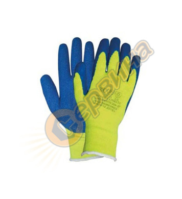 Ръкавици зимни топени в латекс Decorex G004 24286 12бр/стек