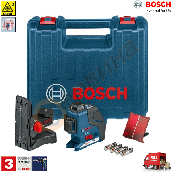 bosch gll 3 80 p professional 0601063302. Black Bedroom Furniture Sets. Home Design Ideas